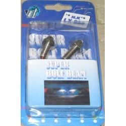 Болт с подсветкой  голубой (2шт) SJ818 blue