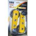Ручка стеклоподъемника желтая к-т (2шт) 2108-6104064 YELLOW