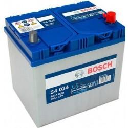 Аккумулятор залитый 6СТ-60АзЕ  Bosch S4 Silver Asia (540А) (R+)