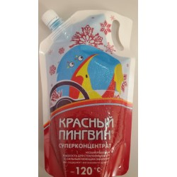 """Жидкость для омывания стекол автомобиля """"Красный пингвин"""" -120 ⁰С"""