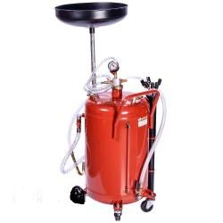 Установка для слива и вакуумной откачки масла 80л B80VS GIKRAFT