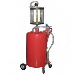 Установка для вакуумной откачки масла с мерной колбой 80л B8010KV GIKRAFT