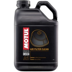 Motul A1 Air Filter Clean - Очиститель поролоновых воздушных фильтров мотоциклов 5 л.
