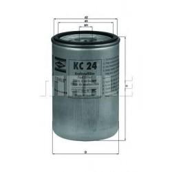 Фильтр топливный MAHLE ORIGINAL KC24