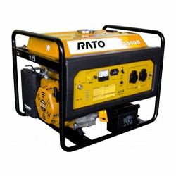 Генератор RATO R5500D бензиновый 5,5 кВ, VFT стартер ручн/электрический