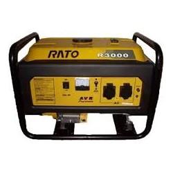 Генератор RATO R3000 бензиновый 3 кВ, AVR стартер ручной