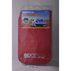 Брызговики SPARCO красные KF-044 red (комплект)