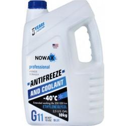 Антифриз готовый NOWAX G11 синий 10 кг.