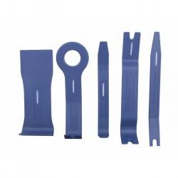 AB010026N Приспособления для снятия облицовки панелей, 5 штук, пластик JONNESWAY