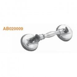 AB020009 Стеклосъемник лобового стекла двойн усиленный, алюминевый JONNESWAY