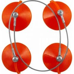 AB020015 Стеклосъемник лобового стекла двойн усиленный, алюминевый JONNESWAY
