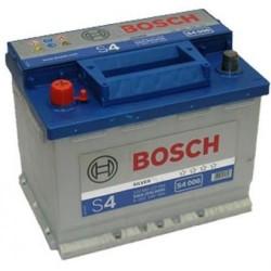 Аккумулятор залитый 6СТ-60АзЕ Bosch S4 Silver (540А) (L+)