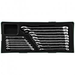 W26116SP Набор комбинированных ключей, 6-24 мм, 16 предметов JONNESWAY