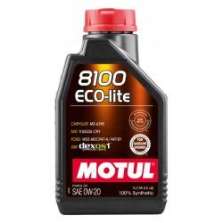 Motul 8100 Eco-lite 0W-20 841154 (1л) Масло моторное