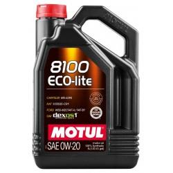 Motul 8100 Eco-lite 0W-20 841111 (4л) Масло моторное