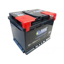 Аккумулятор залитый 6СТ-60 ІСТОК (520А) (R+)