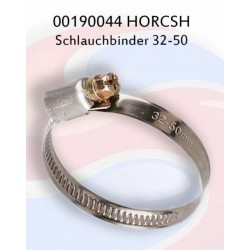 00190044 Хомут шланга д.32-50 V2A Хорш