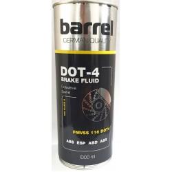 Тормозная жидкость DOT-4 1л Barrel