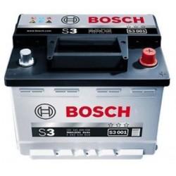 Аккумулятор залитый 6СТ-45АзЕ Bosch S3 Silver (400А) (R+)