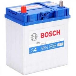 Аккумулятор залитый 6СТ-40АзЕ Bosch S4 Silver (330А) (L+)