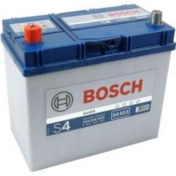 Аккумулятор залитый 6СТ-45АзЕ Bosch S4 Silver Asia (330А) (L+)