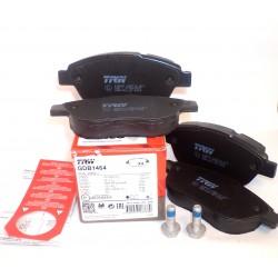 Колодки тормозные дисковые передние TRW GDB01464