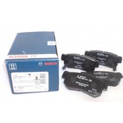 Колодки тормозные передние дисковые (к-т 4 шт) BOSCH 0 986 494 417
