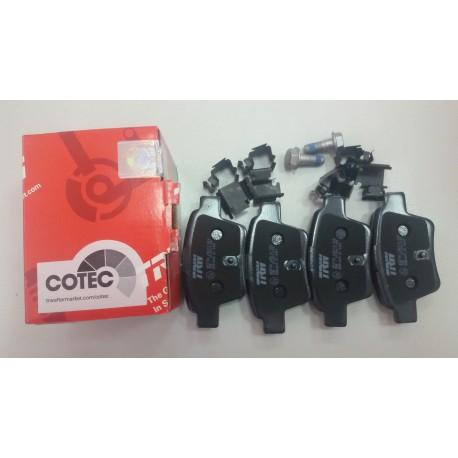 Колодки тормозные дисковые задние TRW GDB1620