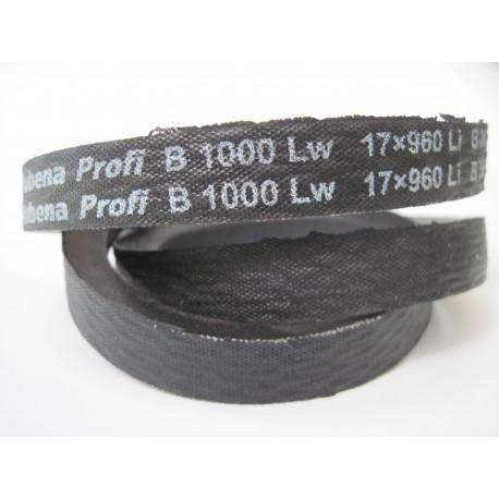 Ремень приводной клиновой B 1000 Lw RUBENA