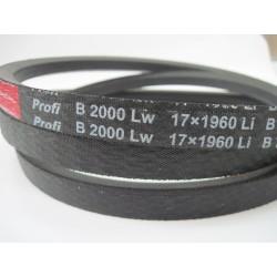 Ремень приводной клиновой B(Б) 2000 Lw RUBENA