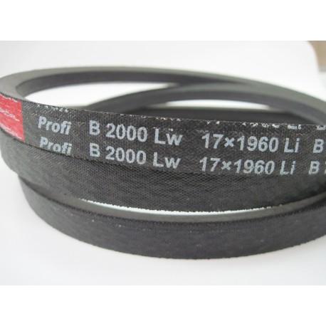 Ремень приводной клиновой B 2000 Lw RUBENA