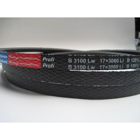 Ремень приводной клиновой B 3100 Lw RUBENA