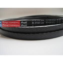 Ремень приводной клиновой B(Б) 3150 Lw RUBENA