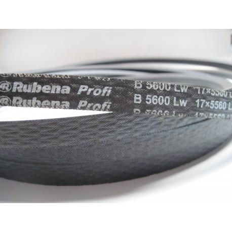 Ремень приводной клиновой B 5600 Lw RUBENA