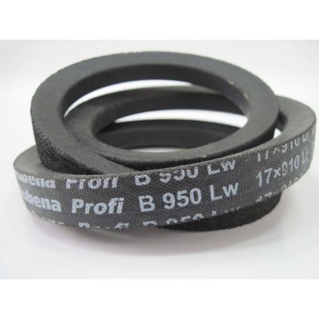 Ремень приводной клиновой B 950 Lw RUBENA
