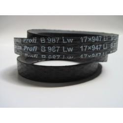 Ремень приводной клиновой B(Б) 987 Lw RUBENA