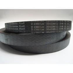 Ремень приводной клиновой D(Г) 2360 Lw RUBENA