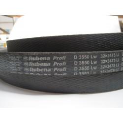 Ремень приводной клиновой D(Г) 3550 Lw RUBENA