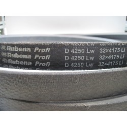 Ремень приводной клиновой D(Г) 4250 Lw RUBENA