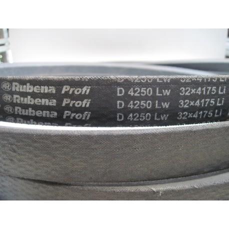 Ремень приводной клиновой D 4250 Lw RUBENA