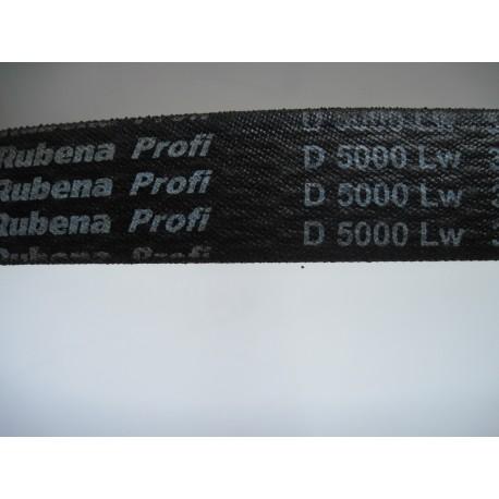 Ремень приводной клиновой D 5000 Lw RUBENA