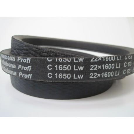 Ремень приводной клиновой C 1650 Lw RUBENA