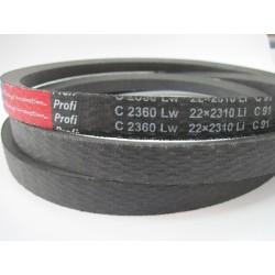 Ремень приводной клиновой C(В) 2360 Lw RUBENA