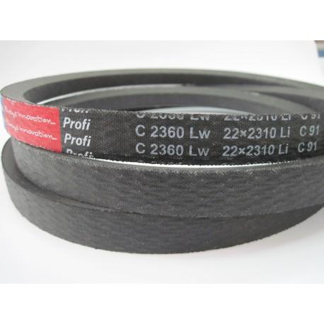 Ремень приводной клиновой C 2360 Lw RUBENA
