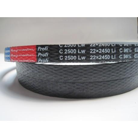 Ремень приводной клиновой C 2500 Lw RUBENA
