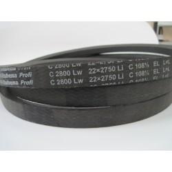 Ремень приводной клиновой С(В) 2800 Lw RUBENA