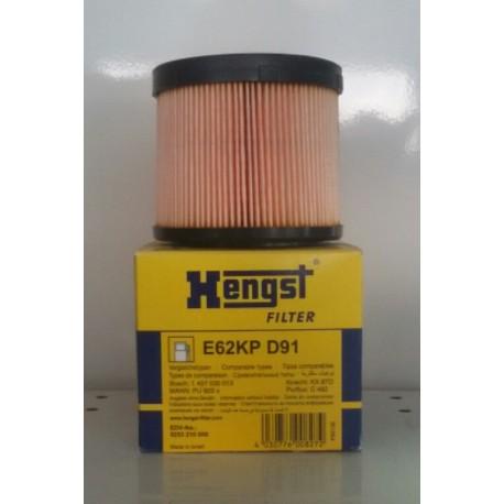 Элемент фильтрующий топлива Hengst E62KP D91