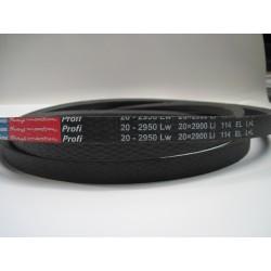 Ремень приводной клиновой 20-2950 Lw RUBENA