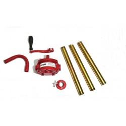 Насос для топлива и масел роторные бочкового типа двухстороннего действия GROZ GNB-25/3R/SPL 44052