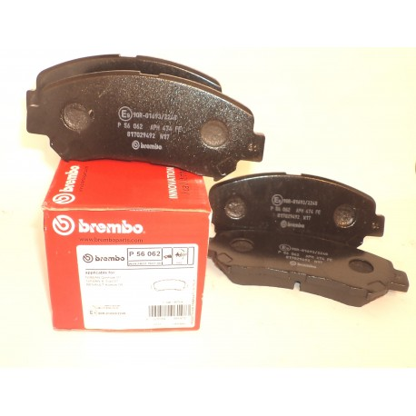 Колодки тормозные дисковые передние BREMBO BM P56062